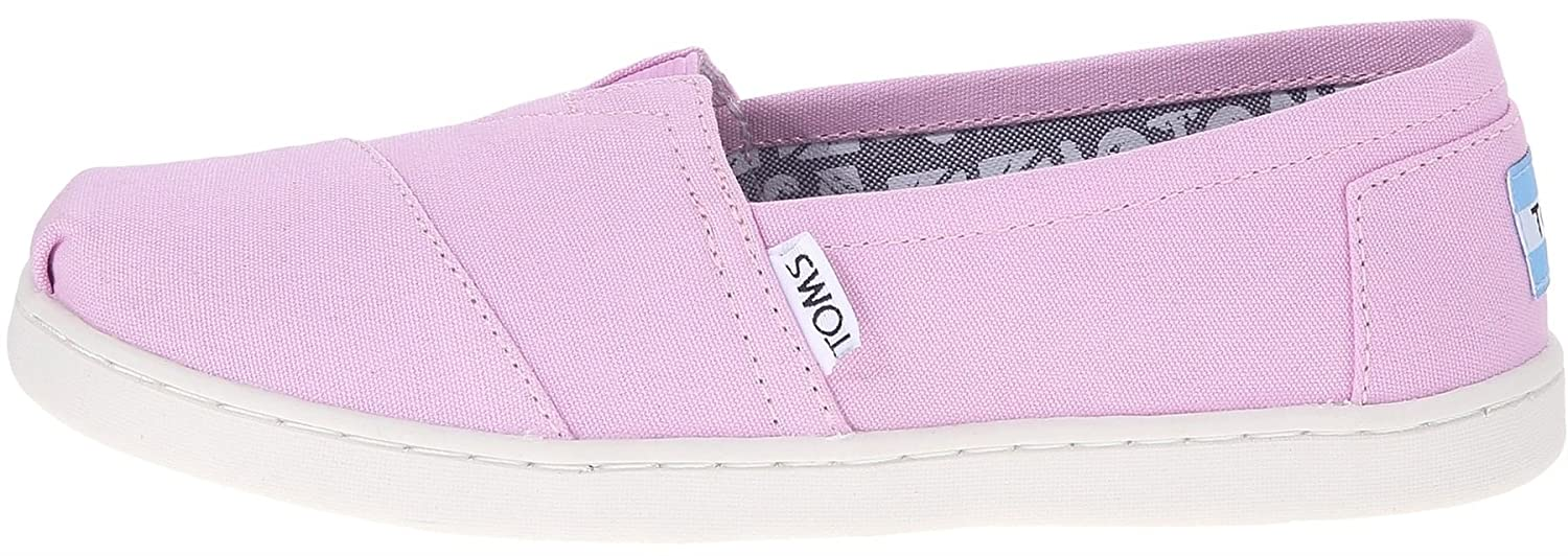 292afb4d26fa3 Amazon.com: TOMS Classic Pink Youth Canvas Espadrilles Shoes Slipons ...