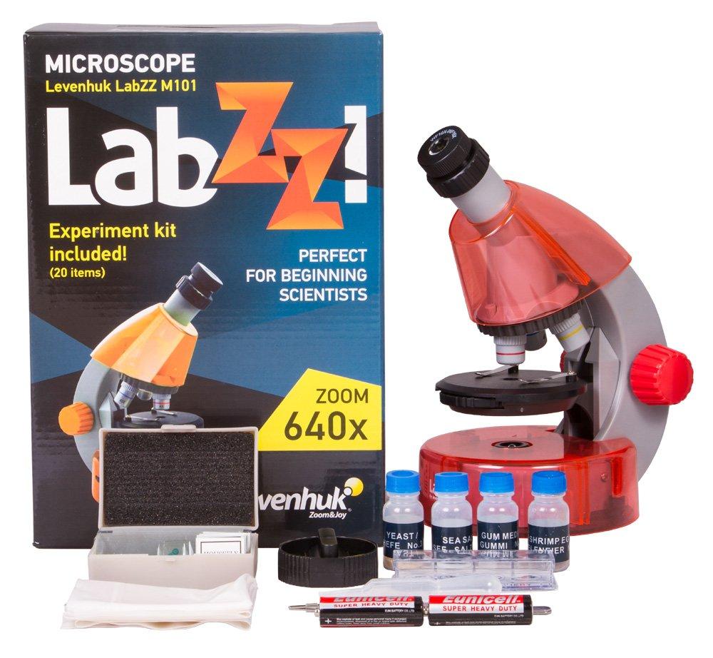Levenhuk Levenhuk LabZZ Orange M101 Orange Microscope Microscope B01K4NA9BW, 彩式ねいる:e1d3502b --- publishingfarm.com