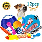 Dog Rope Toys Dog Teething Toys Best Chew Toys for Teething Puppy 12 pcs Gift Set …