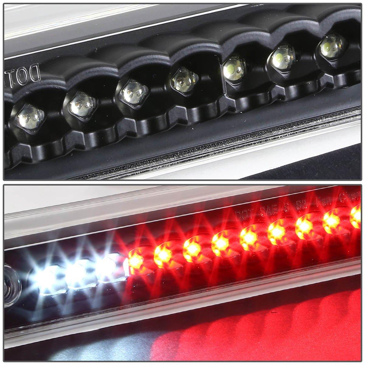 DNA Motoring 3BL-C1088-LED-BK Third Brake Light