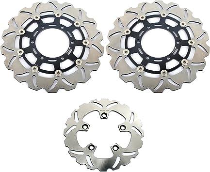 TARAZON 1 Pair Front Brake Discs Rotors for Suzuki GSXR600 GSXR750 2008-2017 GSXR1000 2009-2016 GSXR 600 750 1000