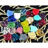 10pcs Mix Multicolor Cat Face Czech Glass Animal Halloween Beads 12mm