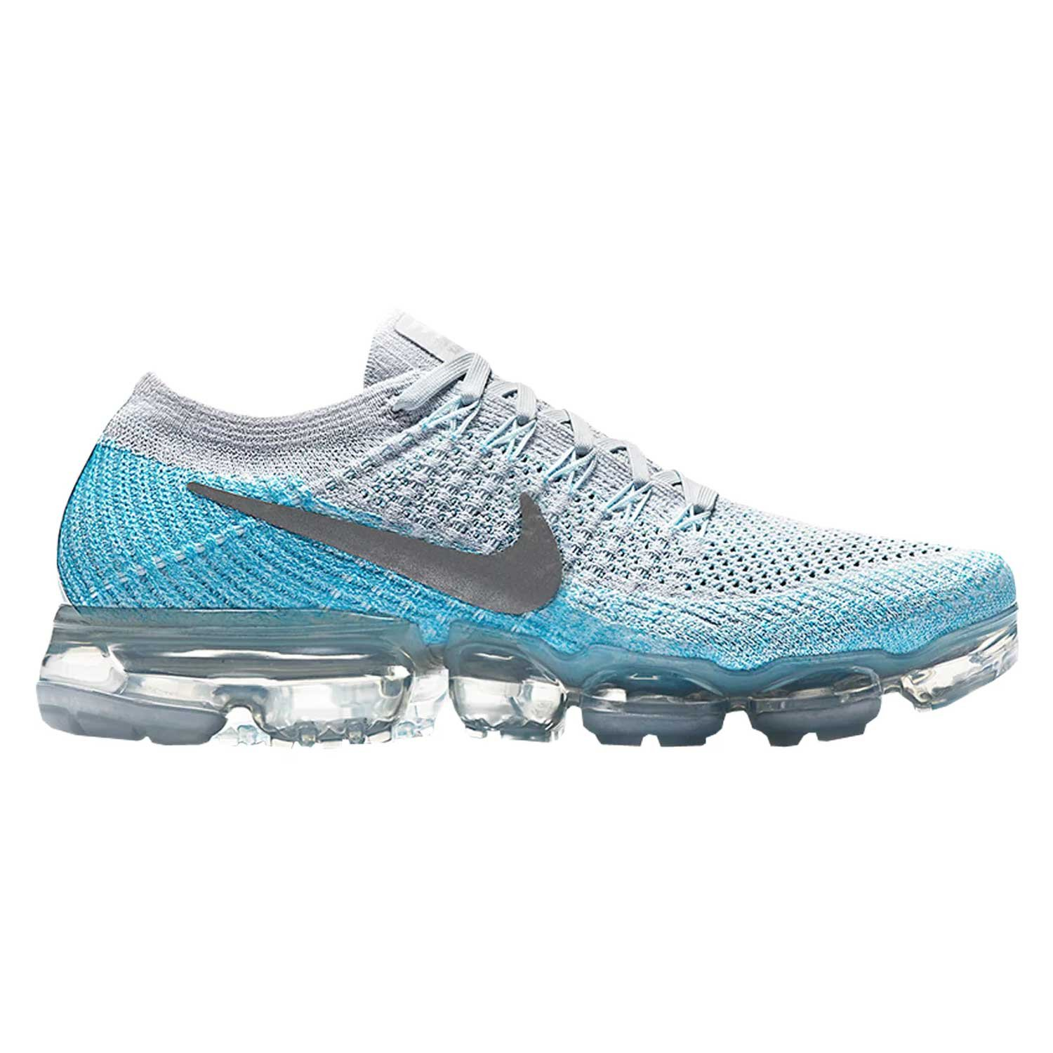 NIKE Women's Air Vapormax Flyknit Running Shoes B0774VQ5QT 7.5 B(M) US|Blue
