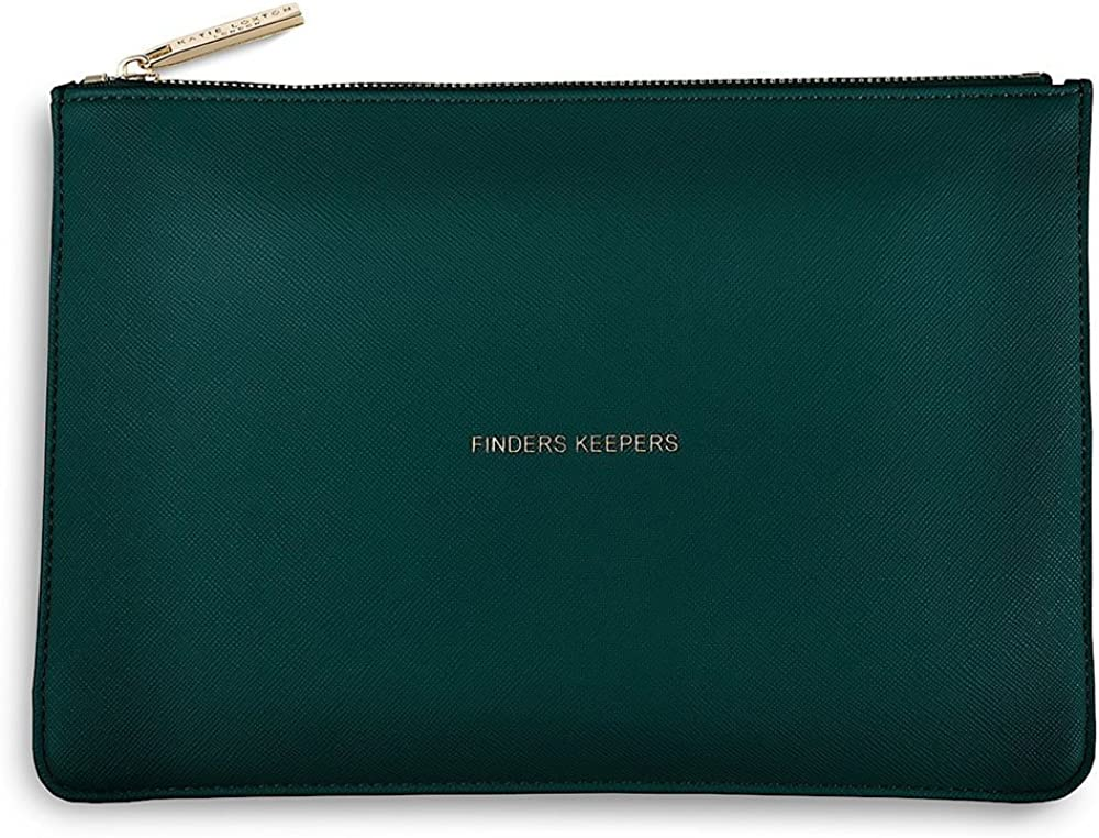 B01KO3UVXS Katie Loxton - The Perfect Pouch - Finders Keepers - Teal 71d9uhnkYYL