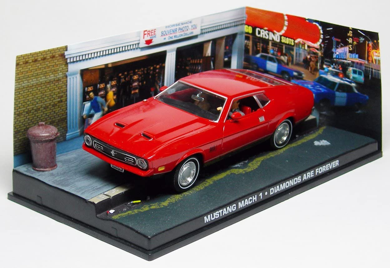 Diamonds Are Forever Eaglemoss 007 James Bond Car Collection N/º 13 Ford Mustang Mach 1