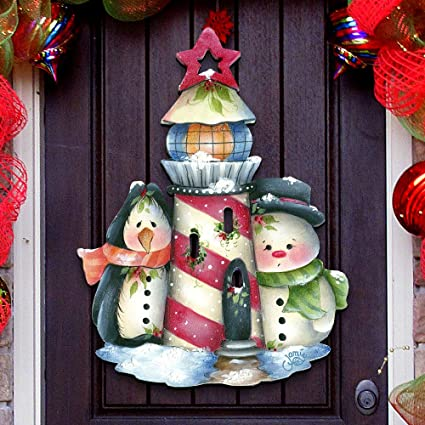 Outdoor Christmas Yard Decorations.Amazon Com G Debrekht Outdoor Christmas Decorations