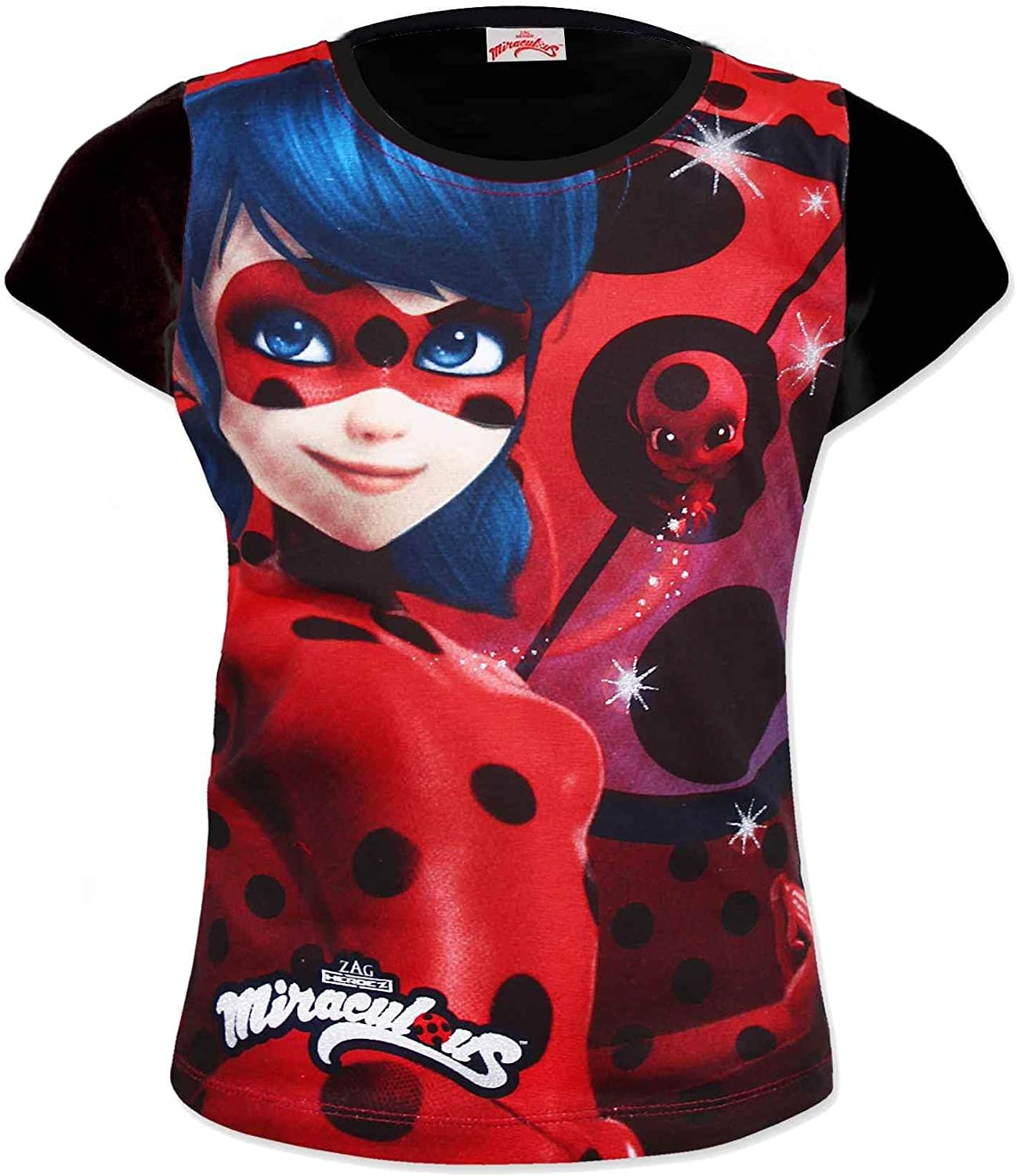 Miraculous Ladybug Girls Official Licensed Tshirt