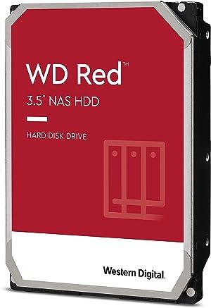 Western Digital 6TB WD Red NAS Internal Hard Drive - 5400 RPM Class, SATA 6 Gb/s, SMR, 256MB Cache, 3.5