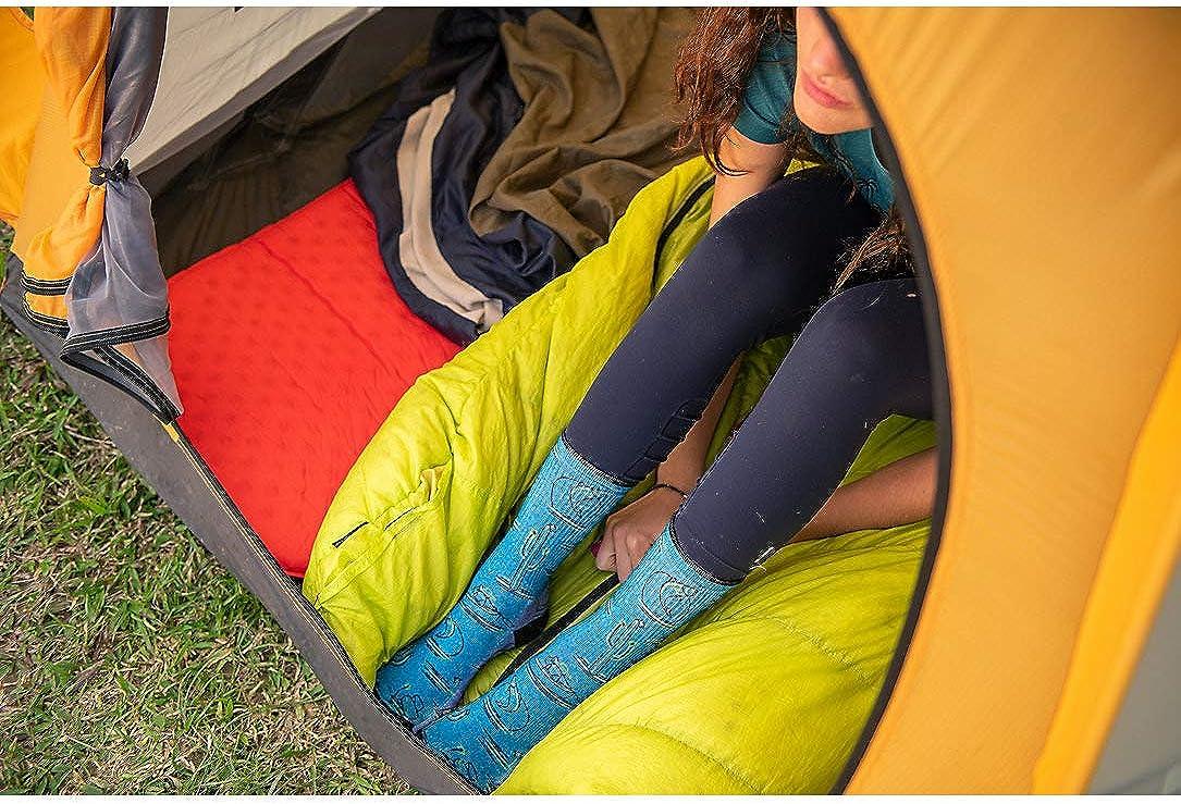Smartwool Cushioned Performance Outdoor Socks Kids Hike Medium Margarita Crew