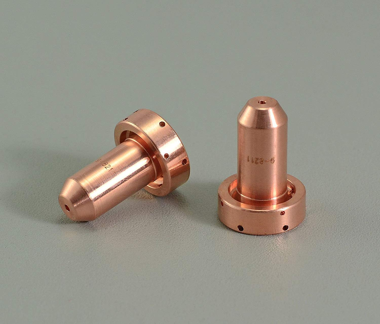 Donwind 9-8211 Thermal Dynamics SL60//SL100 A120 Nozzle 80Amp Plasma Cutting Torch 10pk