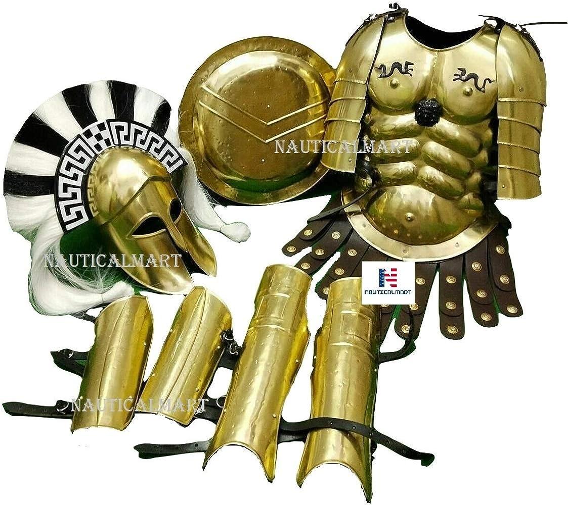 AC942 Roman Leg Armour Ancient Warrior Army Greek Armor Shin Guards Costume Prop