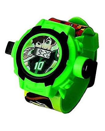 Brother Enterprises Spiderman Unique 24 Images Projector Digital Multicolour Dial Boy's and Girl's Toy Watch - (B074Ddrr9111)