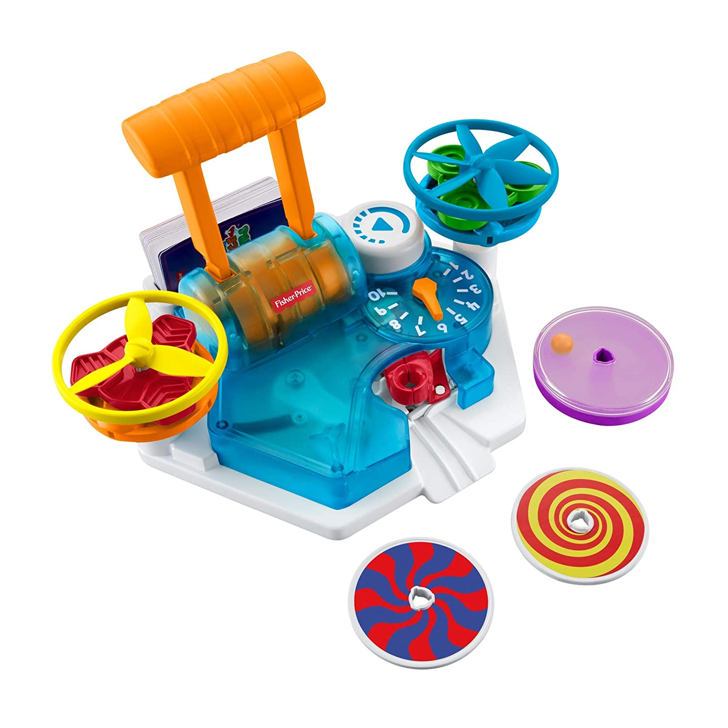 Fisher-Price Think & Learn Load & Launch Science Spinners