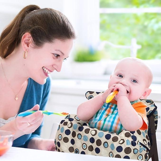 2-in-1 carrito de la compra funda | gran funda para silla para bebé | tamaño mediano: Amazon.es: Bebé
