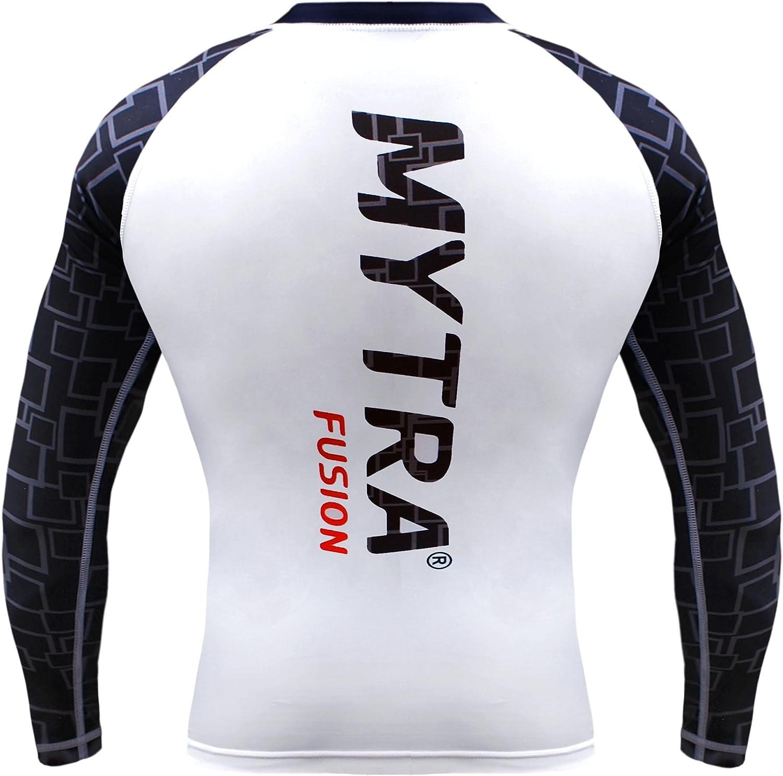 Mytra Fusion Power Layer Capa base y base Gear Compresi/ón y top con cuello redondo