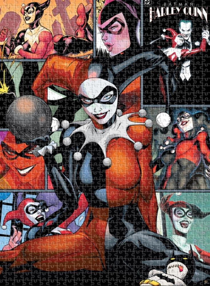 Dc Comics Harley Quinn 500 Pc Puzzle 2015, Toy NEU