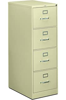 Amazon.com: HON 4-Drawer Legal File - Full-Suspension Filing ...