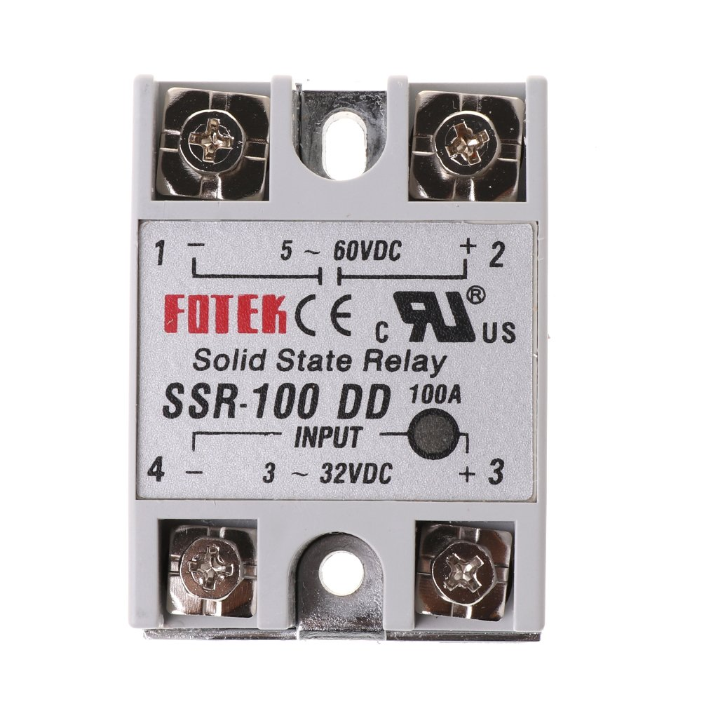 FXCO SSR-100 DD Solid State Relay Module 100A 3-32V DC Input 5-60V DC Output Relay