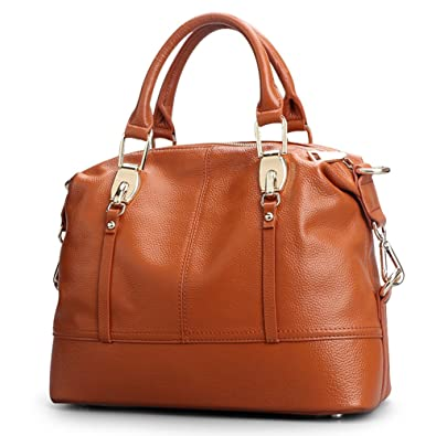 Review Genuine Leather Handbags for