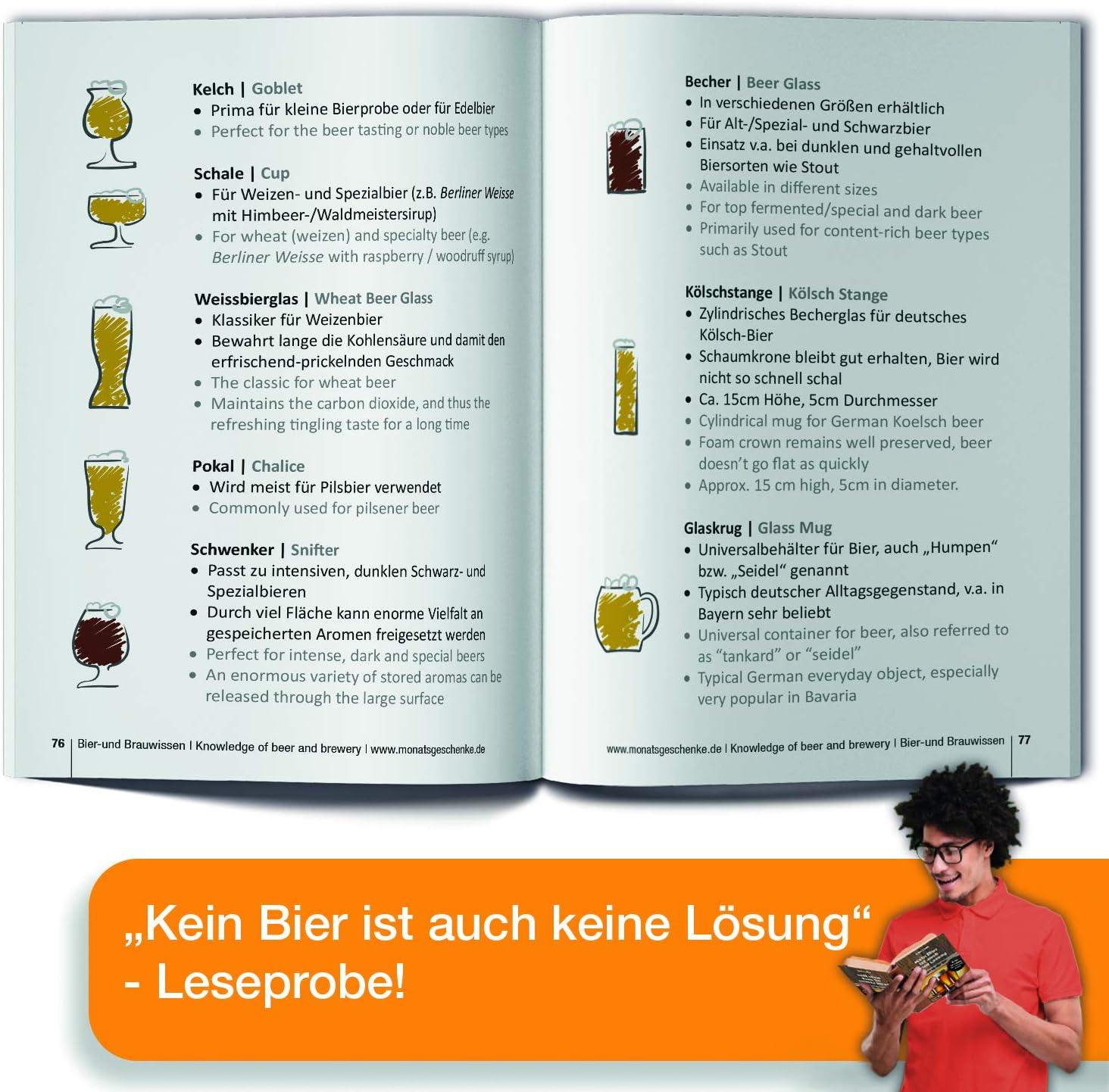 // Bier Geschenkset mit Bieren der Wekt Geburtstagsgeschenk f/ür M/änner zum 51