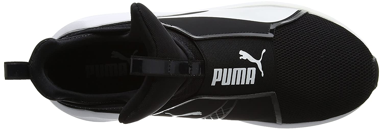 Puma Damen Fierce Core Hallenschuhe, Weiß schwarz, Schwarz (Puma schwarz-puma Weiß Hallenschuhe, 08) e18991