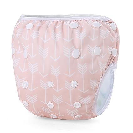 storeofbaby bebé nadar pañales reutilizables natación pantalones para recién nacido bebé 0 – 36 meses Orang