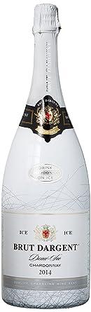 Brut Dargent Ice Chardonnay Demi-Sec Halbtrocken, 2015 (1 x 1.5 l)