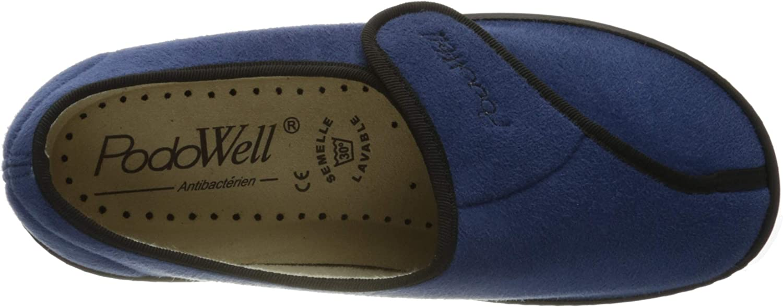 Podowell Amiral, Sneakers Basses Mixte Bleu Blau 7210310 36