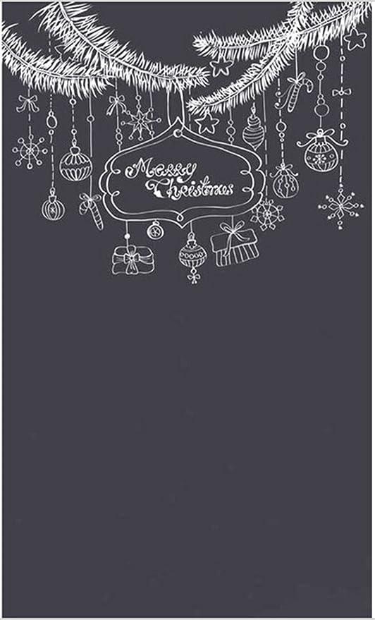5 x 8FT fondo de pizarra feliz Navidad dibujo color sólido ...