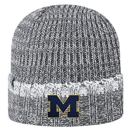 Amazon.com  University of Michigan Wolverines Toddler Knit Hat ... c9c07374b4fa