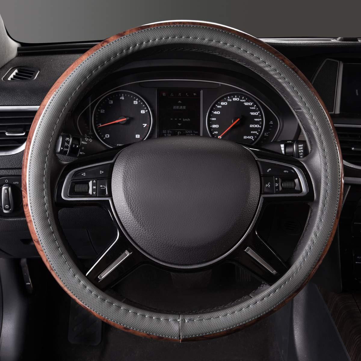 Steering Accessories Anti-Slip Design … CAR PASS Universal Fit ...
