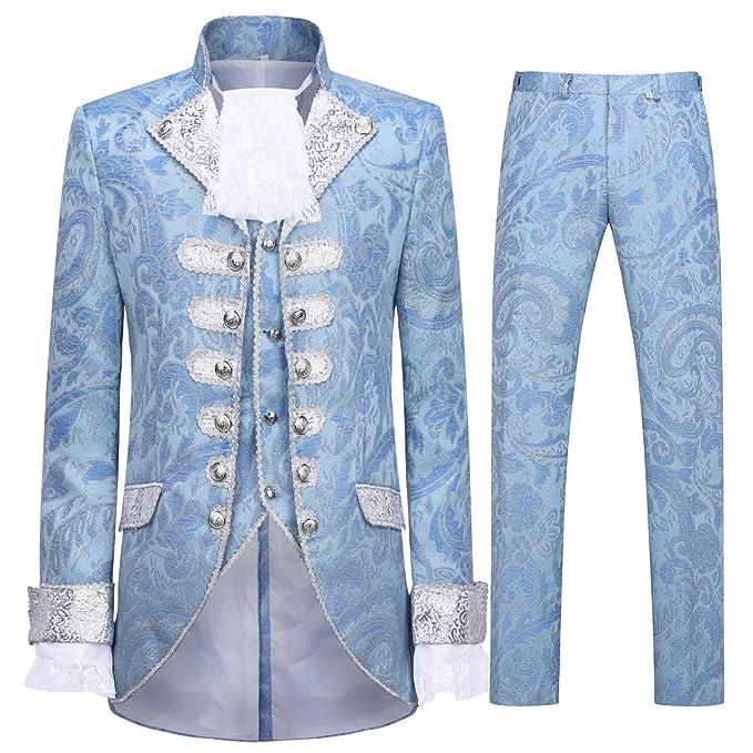 Amazon.com: Cloudstyle Traje de cena para hombre, traje de ...