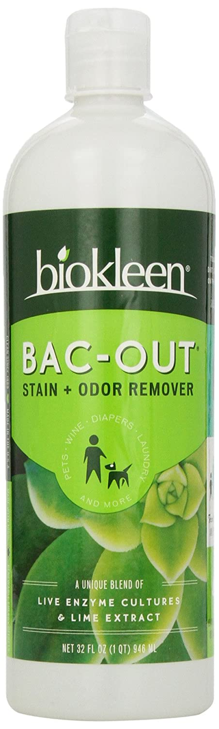 biokleen Bac Out Stain & Odor Eliminator with Live Enzyme Cultures, 32 oz