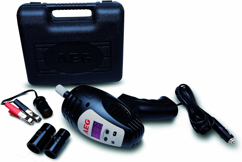 AEG 97135 SD 340 - Destornillador de Impacto con preselección Digital de la Velocidad (de 80 a 340 NM, 12 V, con maletín y Juego de Accesorios)