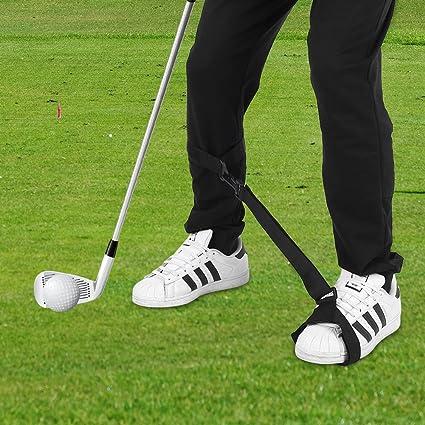 Amazon com : Golf Swing Training Leg Strap Golf Posture
