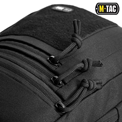 5a2e15afc6c Amazon.com   М-Tac Tactical Bag Shoulder Chest Pack with Sling for  Concealed Carry of Handgun (Black)   Sports   Outdoors