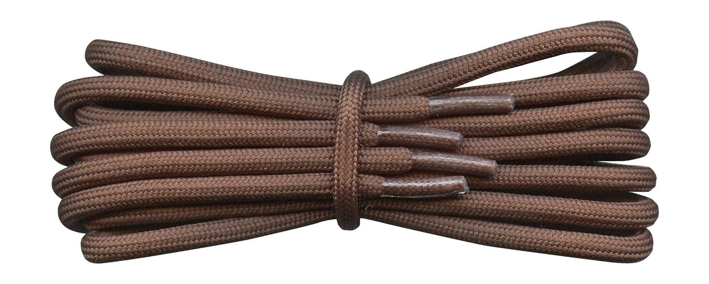 5 mm Fabmania Lacets de bottes en cordon rond /épais longueurs de 75 cm /à 240 cm Id/éal pour la randonn/ée le travail