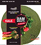 Raw Wraps Kale- Gluten & Soy Free, Vegan & Raw
