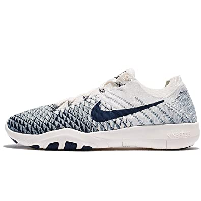 d81fd31a9d7be Amazon.com | Nike Free Tr Women's Athletic Sail/College Navy-Cerlean ...