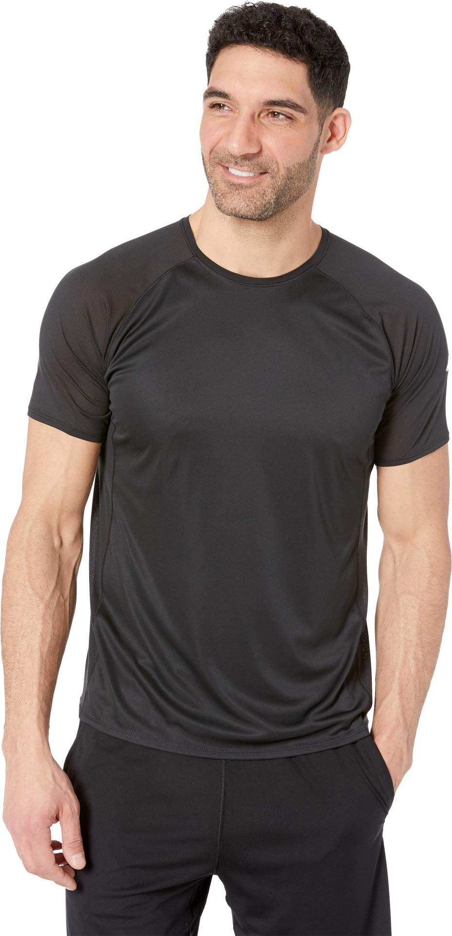 Brooks Men's Stealth Short Sleeve Top Black Small