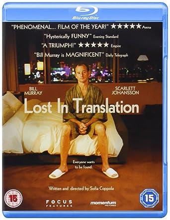 Lost in Translation  Blu-ray   Amazon.co.uk  Bill Murray 091fe2a49111