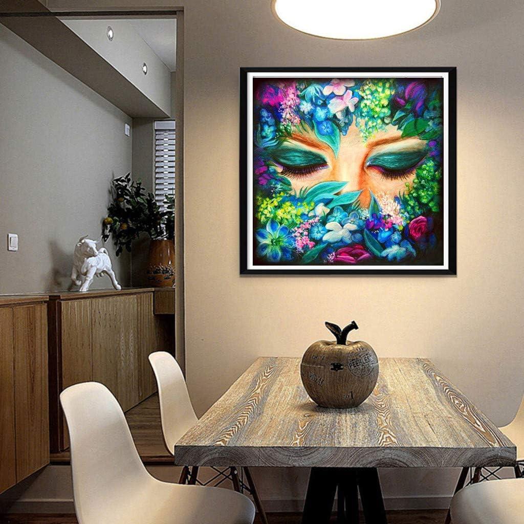 qingqingR Belleza DIY 5D Taladro Completo Diamante Pintura Bordado Kit de Punto de Cruz Rhinestone Decoraci/ón para el hogar Artesan/ías