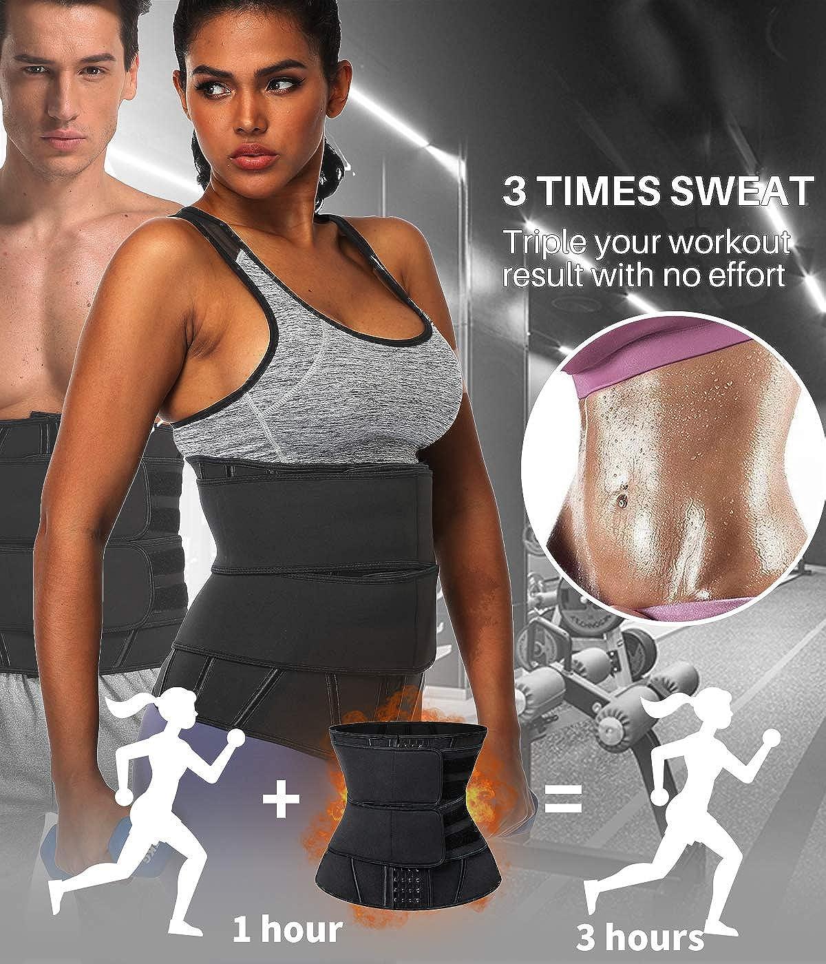 COMFREE Fajas Reductoras Adelgazantes Mujer Waist Trainer Corset Bustier de Cintura Cintur/ón Adelgazante P/érdida de Peso