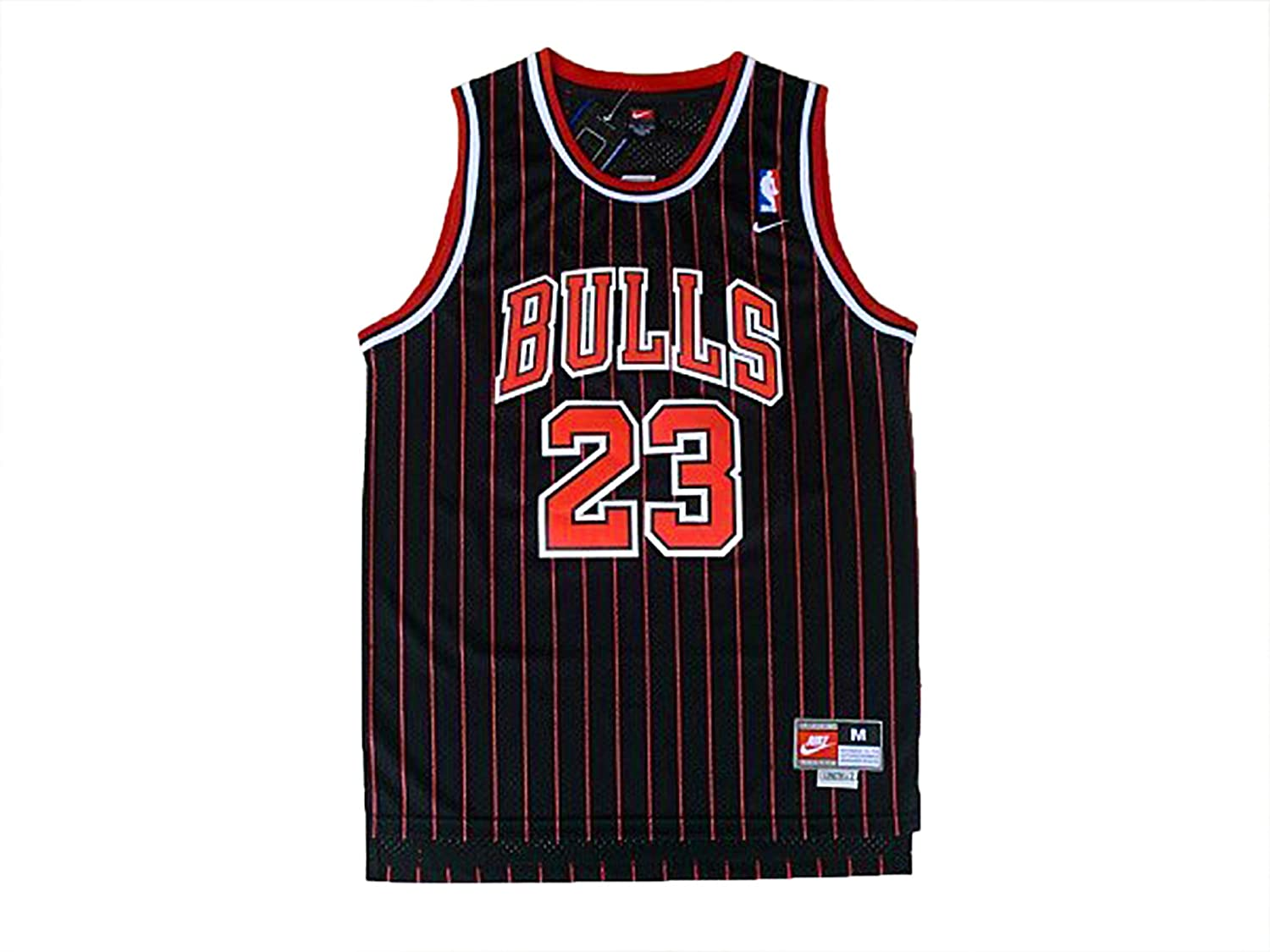 sngxjs Michael Jordan Chicago Bulls Jersey Men #23 Throwback Swingman