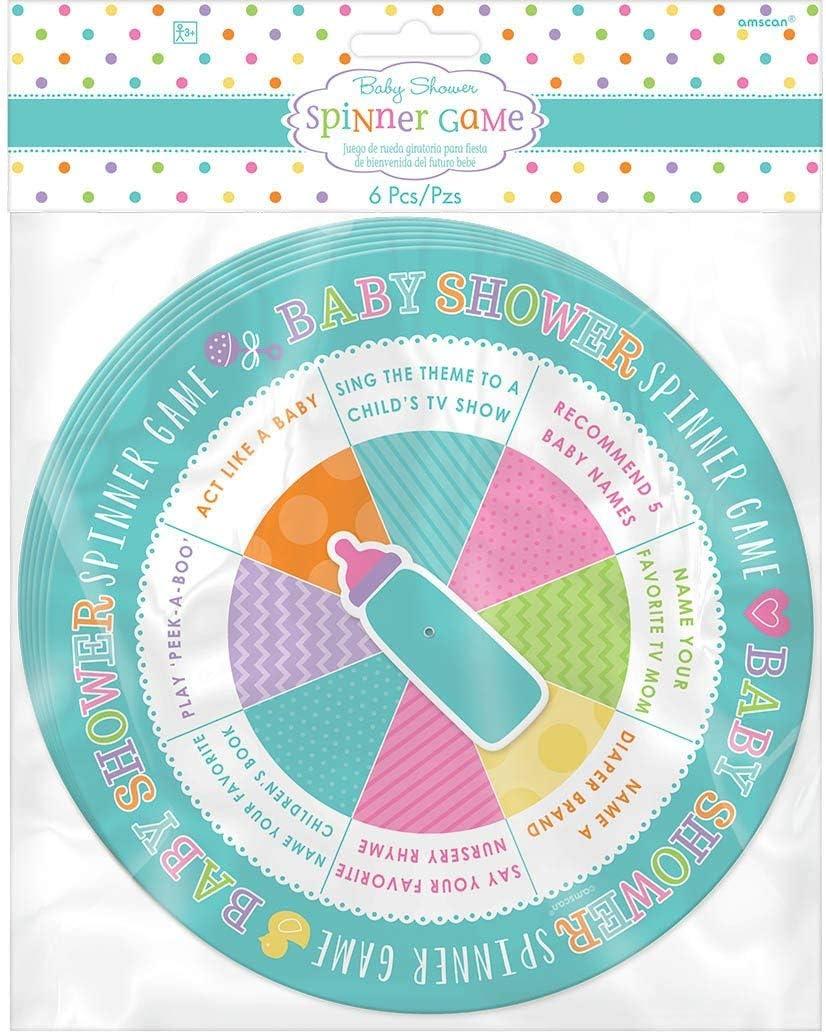 Juego de alfabeto 380061 para baby shower, de Amscan: Amazon.es ...