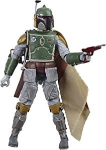 Star Wars The Black Series Boba Fett 6-Inch Scale The Empire Strikes Back 40th Anniversary Collectible Figure, Kids Ages 4 and Up