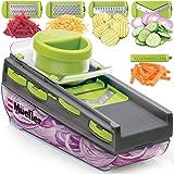 Mueller Mandoline Slicer, Premium Quality V-Pro Five Blade Adjustable Vegetable Slicer, Cutter, Shredder, Veggie Slicers…