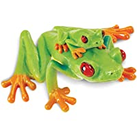 Safari Ltd. Red Eyed Tree Frog – Realistic Hand Painted Toy Figurine Model – Quality Construction from Phthalate, Lead and BPA Free Materials – for Ages 3 and Up
