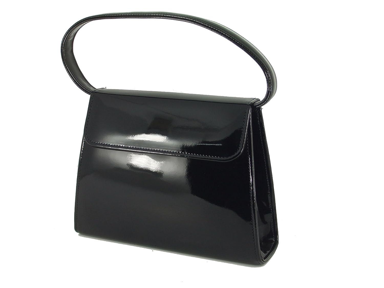 Vintage Handbags, Purses, Bags *New* LONI Womens Clutch Handbag Shoulder Bag in Patent $39.99 AT vintagedancer.com