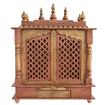 Buy Jodhpur Handicrafts Wood Home Temple Brown Online At Low Prices